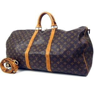 Auth Louis Vuitton Keepall Bandouliere #890L26